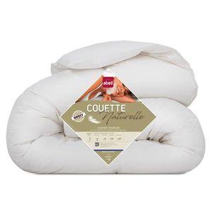 ABEIL Couette Naturelle Duvet & Plumettes 220x240 cm blanc