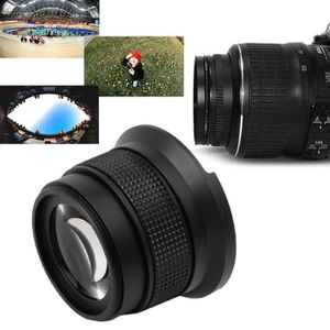OBJECTIF 0.35x52mm super hd grand angle macro fisheye lenti