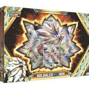 CARTE A COLLECTIONNER Pokemon - Coffret 4 boosters Solgaleo Gx / Lunala