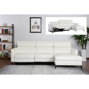 CANAPÉ - SOFA - DIVAN Canapé d'angle réversible relax avec méridienne en