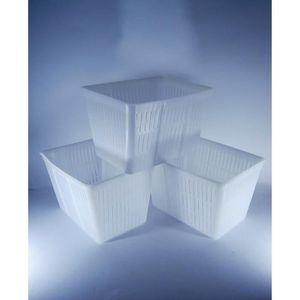 ASSORTIMENT VIN 3 x Moule à fromage 16x12x11cm - 1.5kg - | Forme à