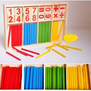 BOÎTE À FORME - GIGOGNE 3 jours livrés 40*20CM  Montessori Nombre bois Mat