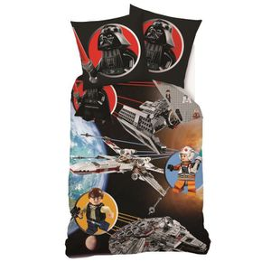 housse de couette star wars achat vente housse de couette star wars pas cher cdiscount. Black Bedroom Furniture Sets. Home Design Ideas
