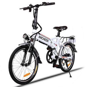 VÉLO ASSISTANCE ÉLEC vélo électrique 20 pouces roue vitesse Mountain Bi