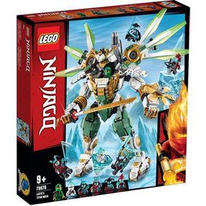 ASSEMBLAGE CONSTRUCTION LEGO® NINJAGO® 70676 Le robot Titan de Lloyd