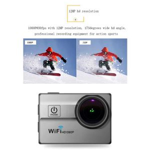 PACK CAMERA SPORT Caméra d'action sport ultra HD 1080P 12MP WIFI éta