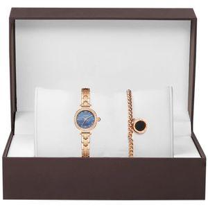 MONTRE RMEGA Luxe Coffret Cadeau Montre Femme + Bracelet