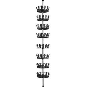 MEUBLE À CHAUSSURES TECTAKE Meuble de Rangement 8 Etagères à Chaussure