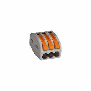 20 Bornes de connexions automatique 10x2-10x3 Fil Souple-Rigide Wago réf 222