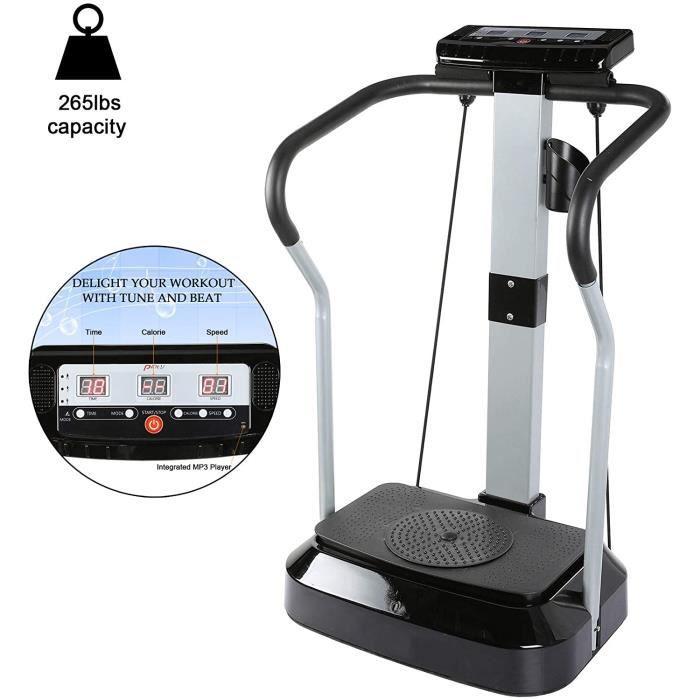 Plateforme Vibrante et Oscillante Fitness Plateforme pour Perte de Poids à la Maison, Plateforme Vibrante avec Rotation des Hanches