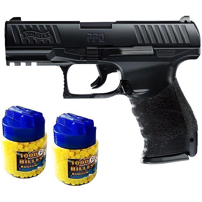 Walter PPQ Pistolet à billes métal + 2000 billes - Airsoft