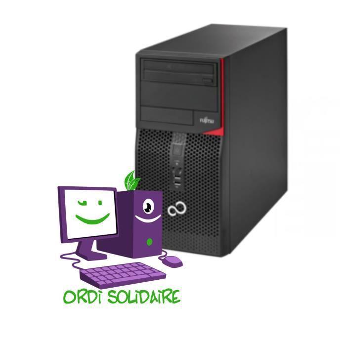 Fujitsu Esprimo P420 E85+ Core i5 - Disque SSD 240 Go - mémoire vive 8 Go - système d'exploitation:Linux Debian 10