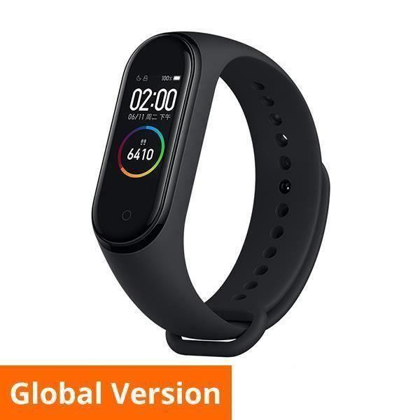 Xiaomi Mi Band 4 Bracelet d 'activité Bluetooth Suivi Sport Noir Fitness Traker Edition Internationale