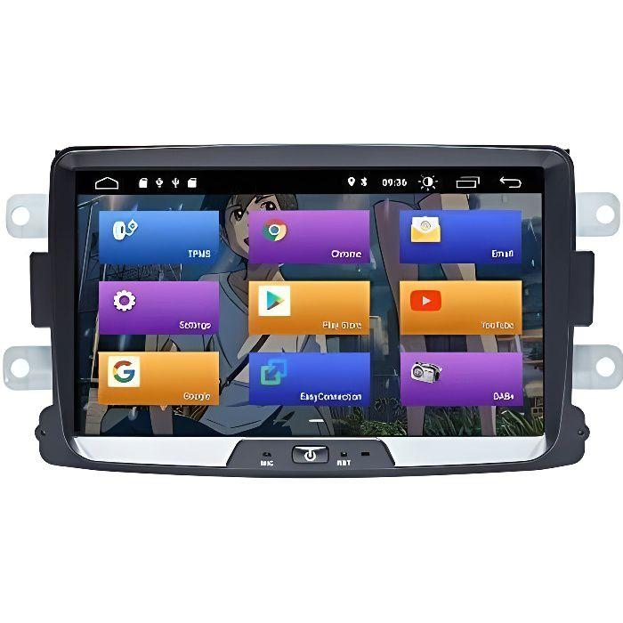 BOOYES pour Renault Duster Dacia Logan Sandero Xray 2 Android 10.0 Double Din 8- Voiture Lecteur Multimédia GPS Navigation Auto Radi