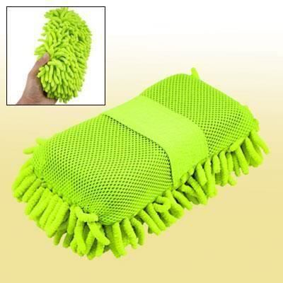 EPONGE - PEAU DE CHAMOIS - MICROFIBRE - CHIFFON Car Auto Vert de nettoyage en microfibre de lavage en éponge Bout0109-18D-44295