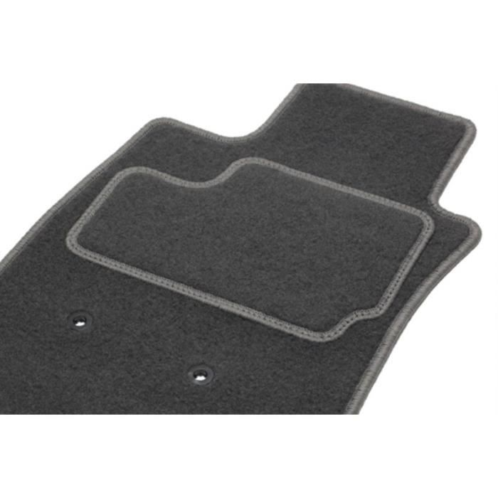 Tapis Ford TRANSIT Connect Utilitaire - 2 Avants (du 06.06 au ce jour) Tapis LUXE GT GRIS sur mesure. SKU:201118_1020 REF: