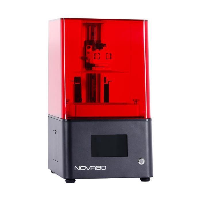Imprimante 3D photopolymérisable NOVA3D Bene 4 tactile couleur 4,3# LCD130x70x150 mm haute précision 8G grand stockage