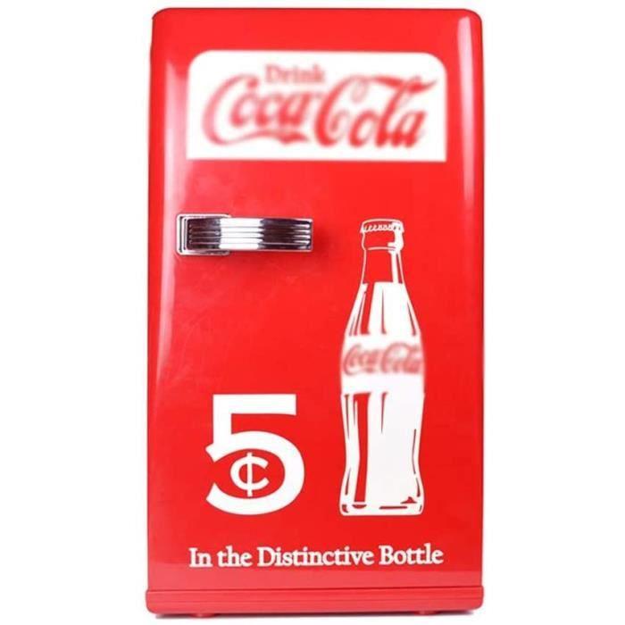 XIAOHE Coca-Cola 12L réfrigération Domestique Portable Petit réfrigérateur congélateur réfrigérateur Voiture A480