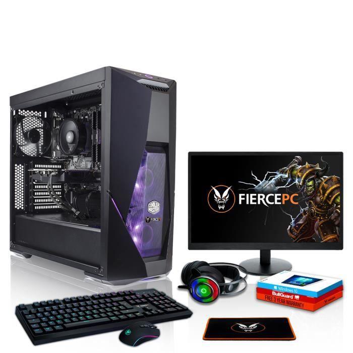 Fierce Tormentor PC Gamer de Bureau - Intel Core i7 8700...