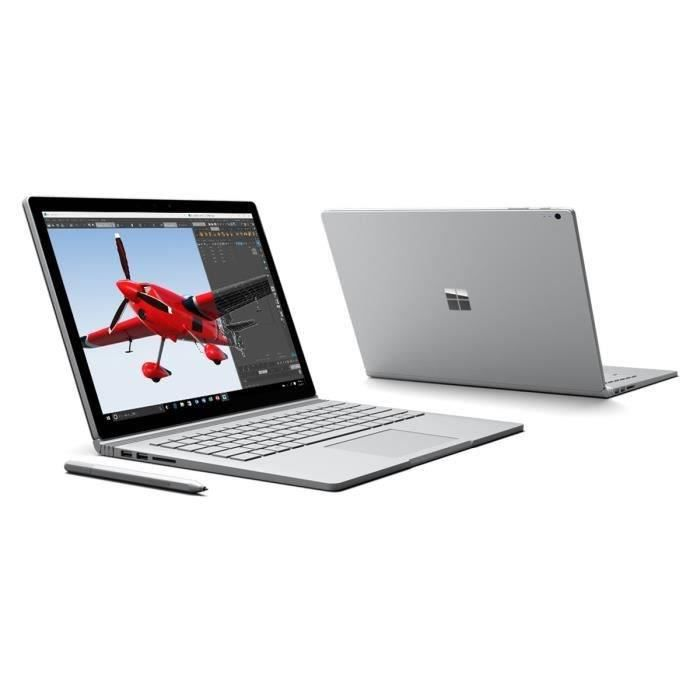 Surface Book i7 16Go 512Go stylet Surface inclus
