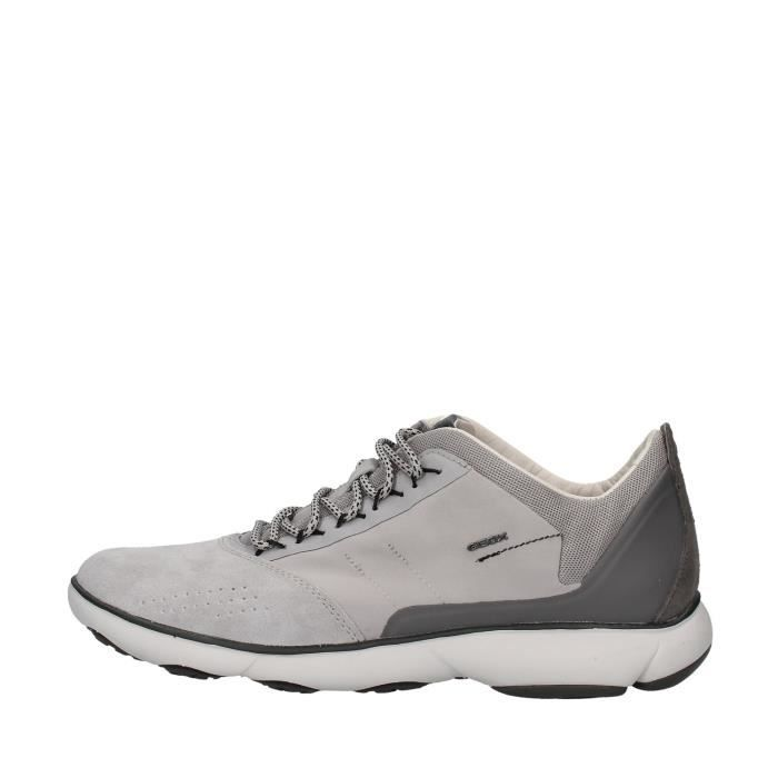 Geox U94D7C01122 chaussures de tennis faible homme GRIS