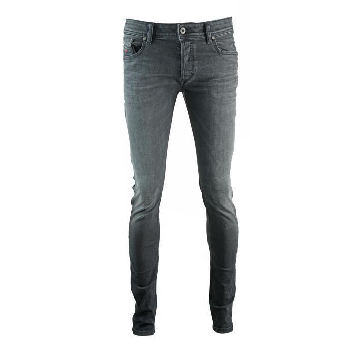 Diesel Troxer 0R6T80 Slim, cigarette, moulant Jeans