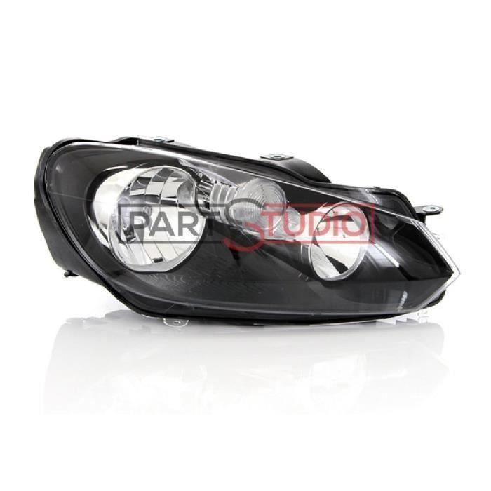 Optique, phare feu avant droit DRL passager, Volkswagen Golf 6 VI de 11-08 à 11-12