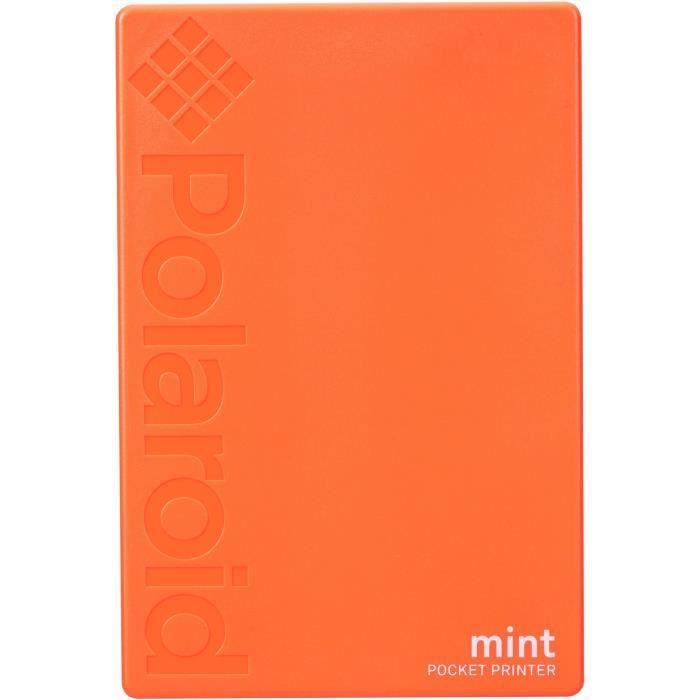 POLAROID Mint Imprimante photo mobile Bluetooth - Impression format 2-x3- - Orange
