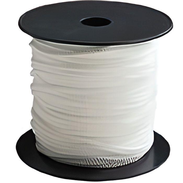 Tresse - Polypropylène - 4 mm x 100 m - Blanc