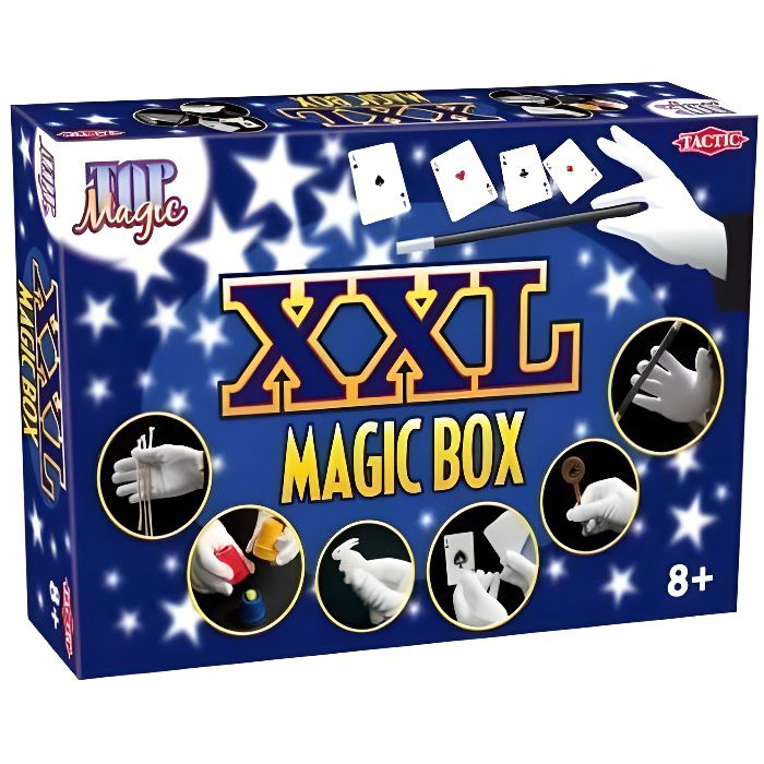 TACTIC - 40167 - KITS DE MAGIE - MAGIC BOX XXL