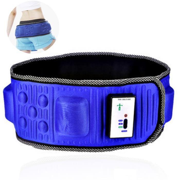 TD® Machine de rejet de graisse paresseuse de vibration de ceinture minceur exercice ceinture de massage abdominal