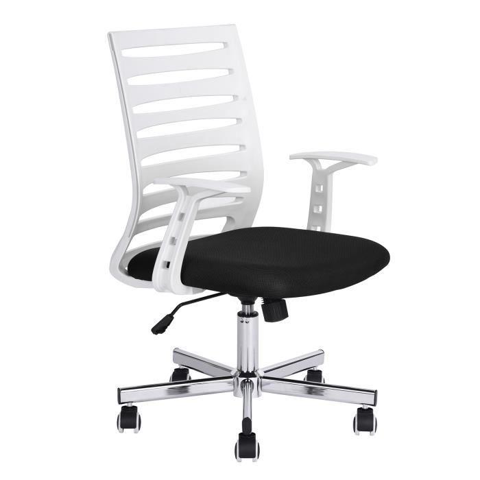 CHAISE DE BUREAU Homy Casa Chaise de bureau avec Dossier Design Ban