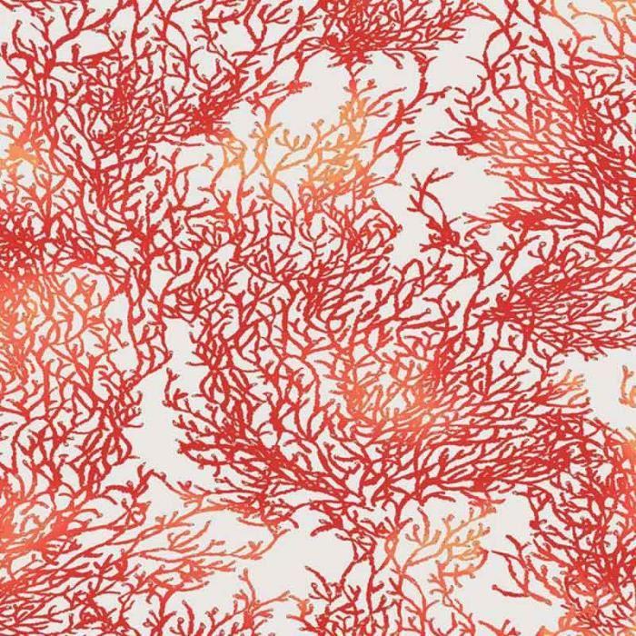 RIDEAU Rideau Corail Marin Rouge 135 x 250 cm
