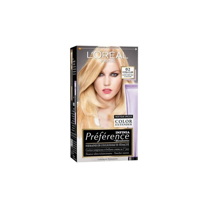 coloration loreal recital prfrence les blondissimes 0 - Coloration L Oreal Blond