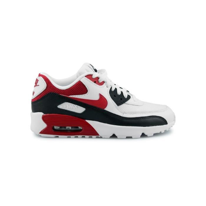 BASKET Basket Nike Air Max 90 Mesh Junior Blanc 833418-10