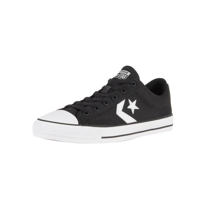 Player Star Converse TrainersNoir Ox Homme sCdtQorBxh