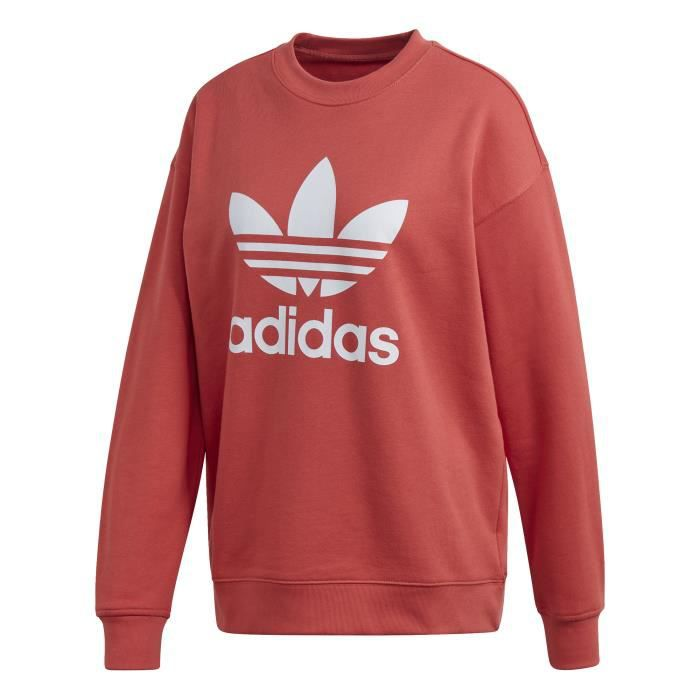 Sweatshirt femme adidas originals Trefoil Crew