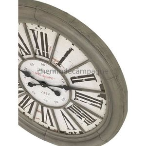 horloge murale ancienne achat vente horloge murale ancienne pas cher cdiscount. Black Bedroom Furniture Sets. Home Design Ideas