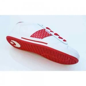 OSIRIS Serve White Lollipop Red