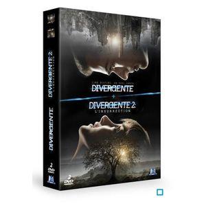 DVD FILM DVD Coffret divergente ; divergente 2
