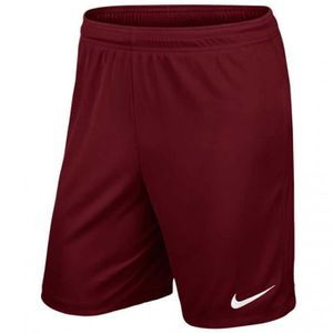 SHORT DE FOOTBALL NIKE Short Unisexe Park II Knit - Bourgogne