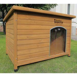 NICHE Pets Imperial® Chenil Niche en Bois Isolée Norfolk