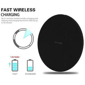 CHARGEUR TÉLÉPHONE Qi Chargeur rapide Chargeur sans fil rapide pour S