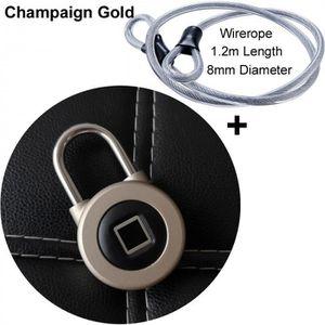 SERRURE - BARILLET Version Champaign Doré add - Smart Bluetooth Caden