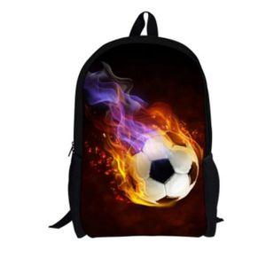 SAC À DOS Cartable sac à dos football designs unisexe