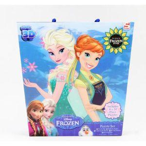 PUZZLE puzzle Disney Frozen 4in1 Puzzle 3D