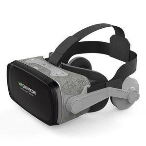 LUNETTES 3D Casque VR, Lunettes 3D Réalité Virtuelle pour iPho