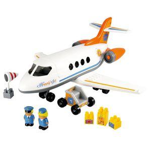ASSEMBLAGE CONSTRUCTION Ecoiffier - 3045 - Jeu De Construction - Avion Hap