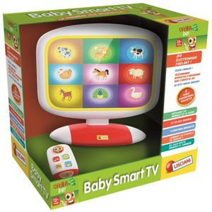 JEU D'APPRENTISSAGE LISCIANI Carotina Baby Smart Tv - Jeu Educatif Ele