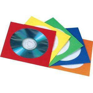 RANGEMENT CD-DVD Hama pochettes papiers pour cd/dvd, pour 1 cd/d…